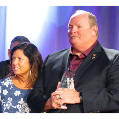 Lon Robinson inducted into FTA Hall of Fame 2018