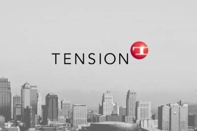 KC skyline Tension logo