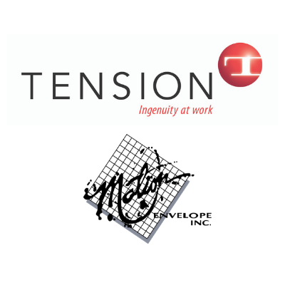 Tension Corporation and Motion Envelopes logo